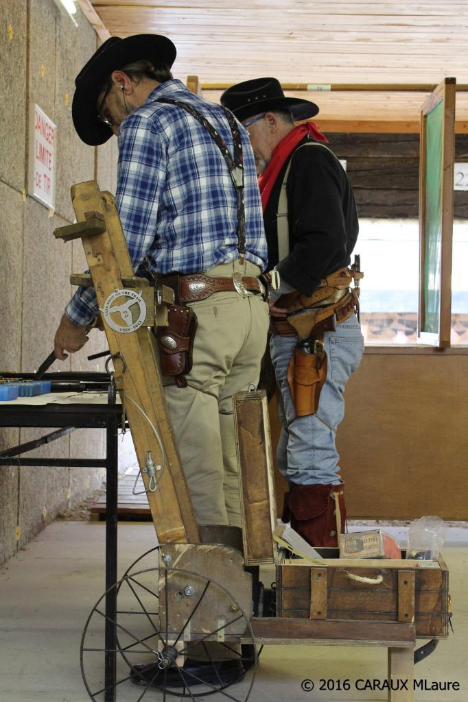 Cowboy Action Shooting révolver poudre noire
